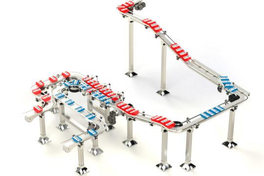 Linea trasporto packaging